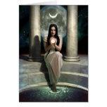 Luna Greeting Card