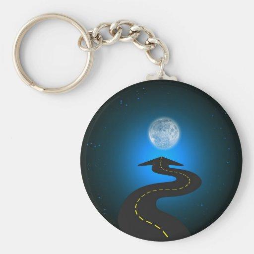Luna Key Chain