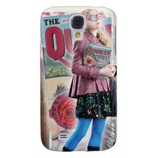 Luna Lovegood Montage Galaxy S4 Case