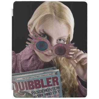 Luna Lovegood Peeks Over Glasses iPad Cover