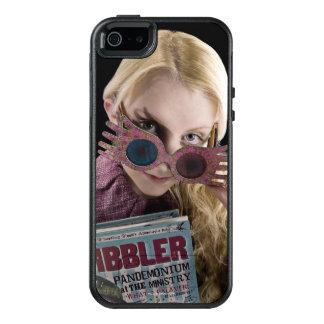 Luna Lovegood Peeks Over Glasses OtterBox iPhone 5/5s/SE Case