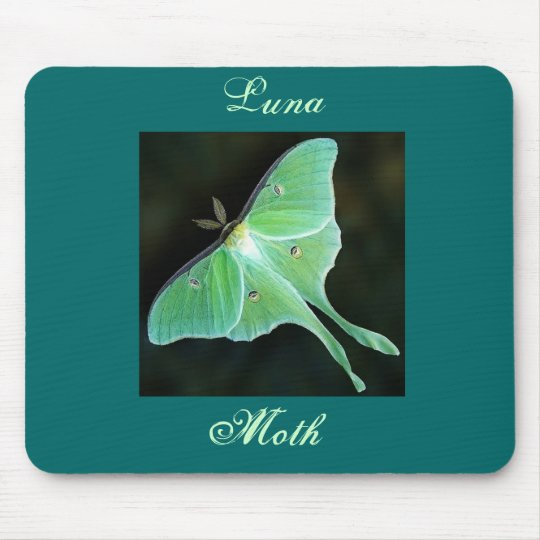 Luna Moth, Luna, Moth Mouse Mat