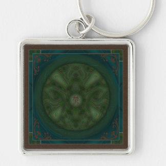 Luna Moth Mandala Key Chains