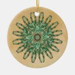 Luna Moth Mandala Ornament