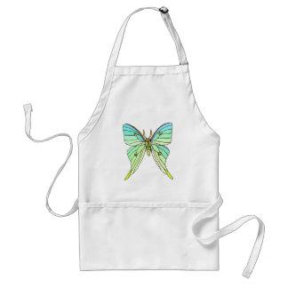 Luna Moth Standard Apron
