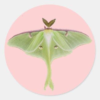Luna Moth Stickers