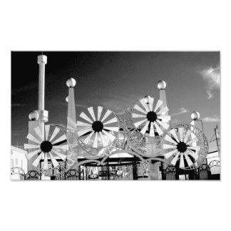 'Luna Park Entrance' Photographic Print