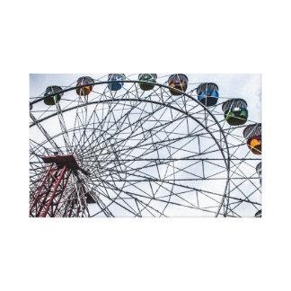 Luna Park ferris wheel, Sydney Canvas Print