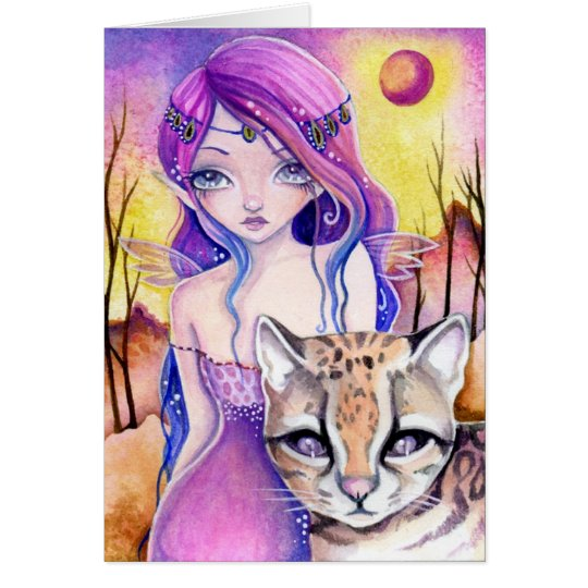 Luna Phantom - blank card