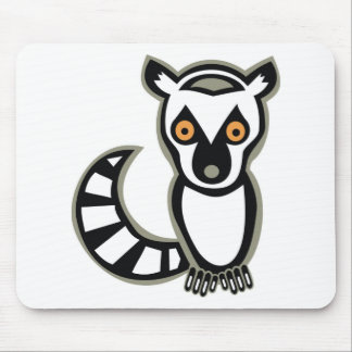 LUNA the LEMUR Mouse Pad