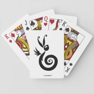 Luna the Shadow Rabbit Playing Cards