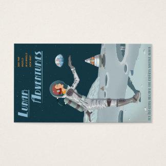 Lunar Adventures biz card