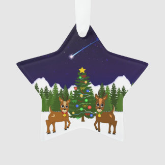 Lunar and Willow's Christmas Wish Tree Ornament