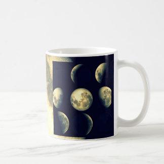 Lunar Cycles ~ The Moon Coffee Mugs