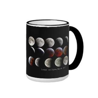 """Lunar eclipse and March 2007"" Mugs"