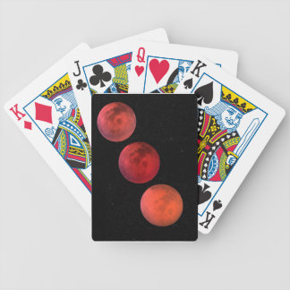 Lunar Eclipse Bicycle Playing Cards