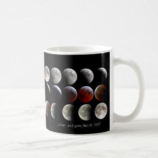 """""""Lunar eclipse March 2007"""" マグカップ コーヒーマグ"""