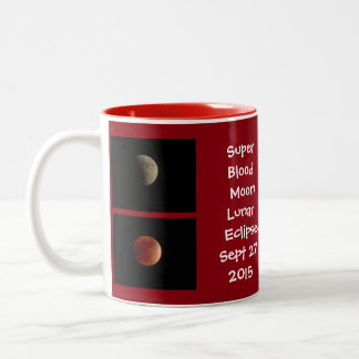 lunar eclipse photos / message mug 15r