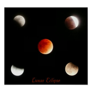 Lunar Eclipse Posters