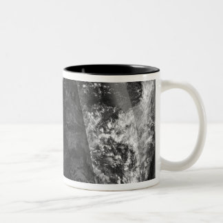 Lunar eclipse Two-Tone coffee mug