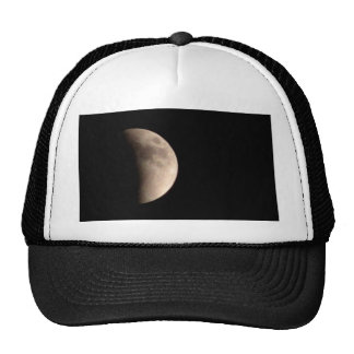 Lunar Eclipse with Craters Cap