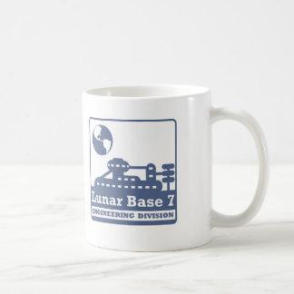 Lunar Engineering Division Basic White Mug