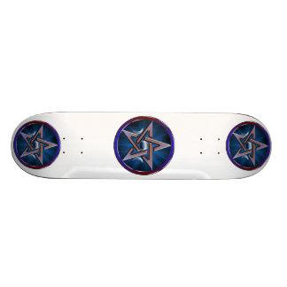 Lunar Goddess Pentagram Skateboard