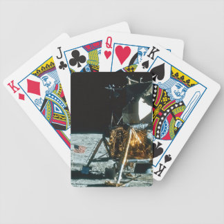 Lunar Module on the Moon Bicycle Playing Cards