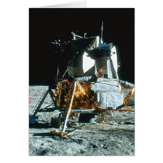 Lunar Module on the Moon Greeting Cards