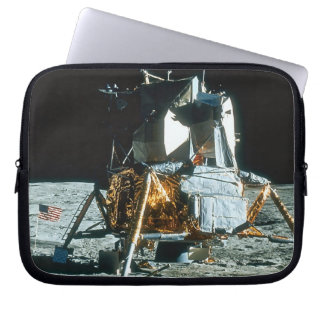 Lunar Module on the Moon Laptop Sleeves