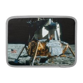 Lunar Module on the Moon MacBook Sleeve