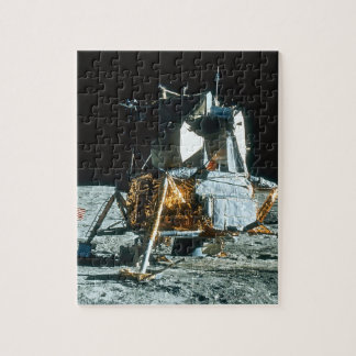 Lunar Module on the Moon Puzzles