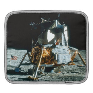 Lunar Module on the Moon Sleeves For iPads