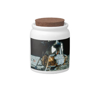 Lunar Module on the Moon Candy Jars
