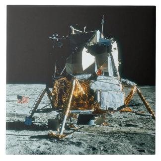 Lunar Module on the Moon Tile