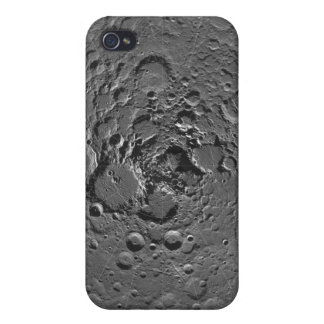 Lunar mosaic of the north polar region of the m iPhone 4 case