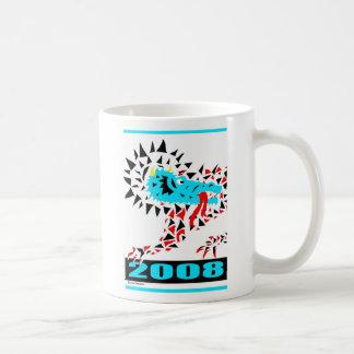Lunar New Year White Coffee Mugs
