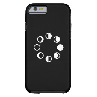 Lunar Phases Pictogram iPhone 6 Case Tough iPhone 6 Case