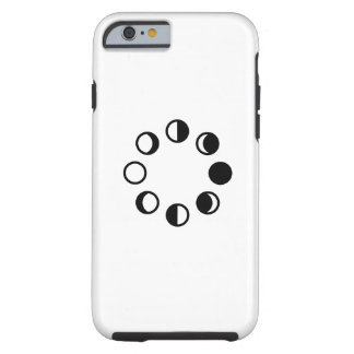 Lunar Phases Pictogram iPhone 6 Case Tough iPhone 6 Case