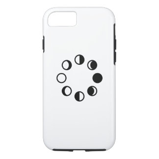 Lunar Phases Pictogram iPhone 7 Case