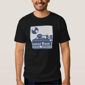 Lunar Postal Division Tshirts