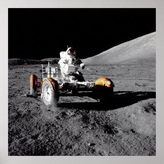 Lunar Rover, Apollo 17 Poster
