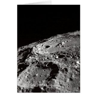 lunar surface card