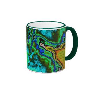 Lunar Surface Map Ringer Mug