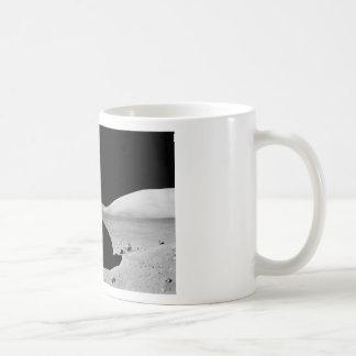 Lunar surfaces basic white mug