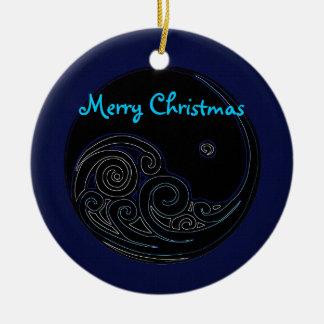 Lunar Tide Christmas Ornament