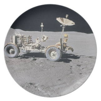 Lunar Vehicle Plate