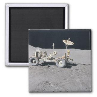 Lunar Vehicle Square Magnet