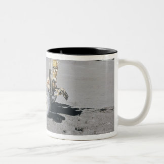 Lunar Vehicle Two-Tone Coffee Mug