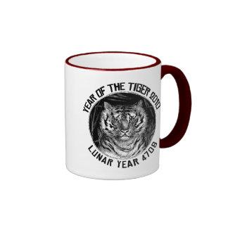 Lunar Year 4708 Year of The Tiger 2010 Mugs
